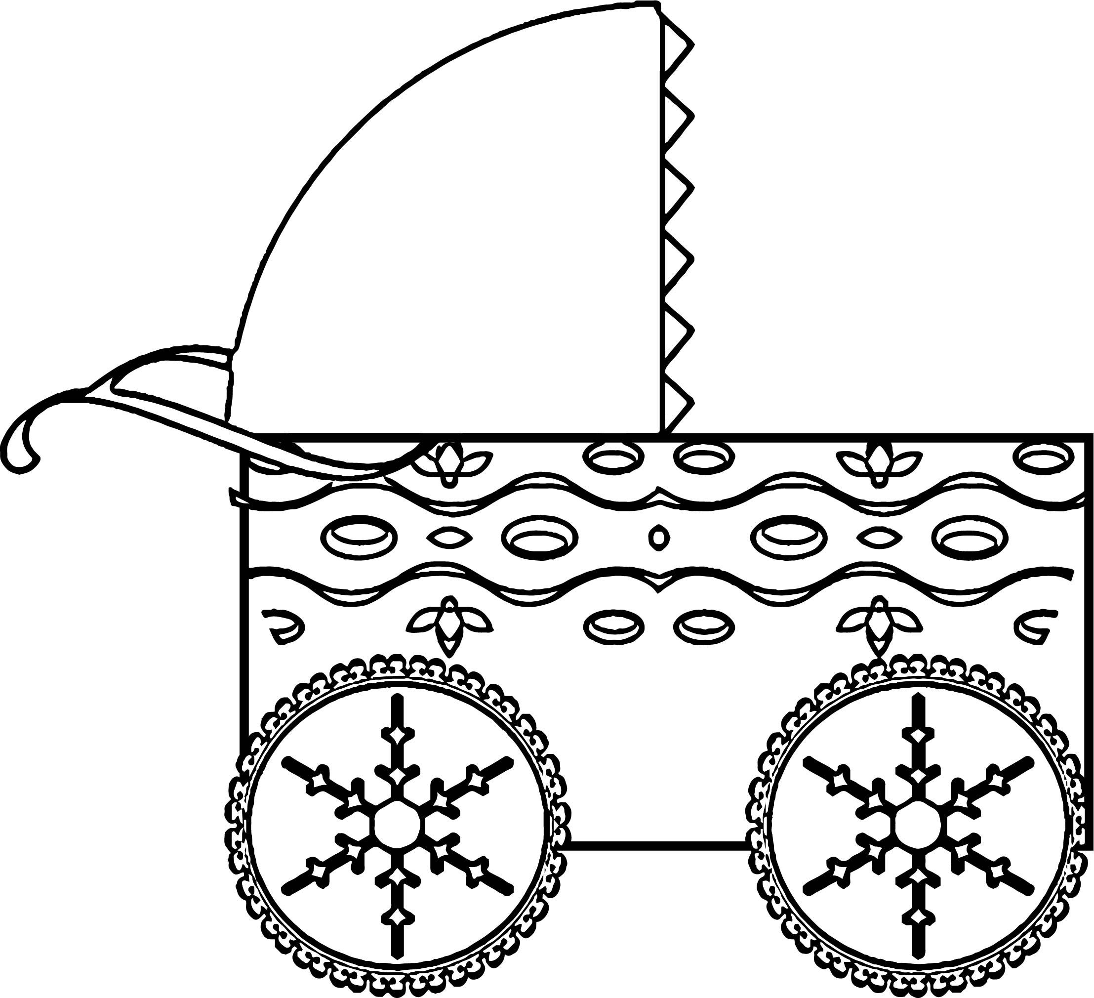 Any Baby Buggy Coloring Page