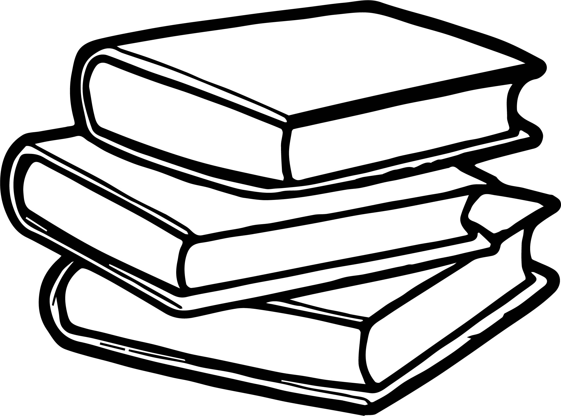 Any Book Coloring Page