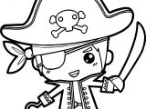 Any Boy Pirate Coloring Page