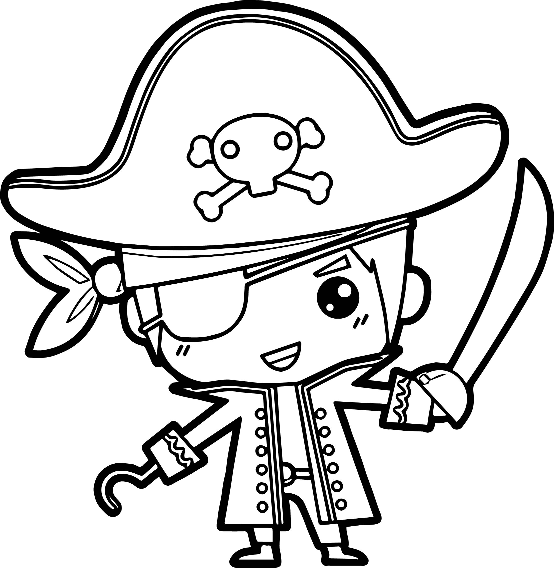 pirate hat coloring page   coloring pages ideas amp reviews