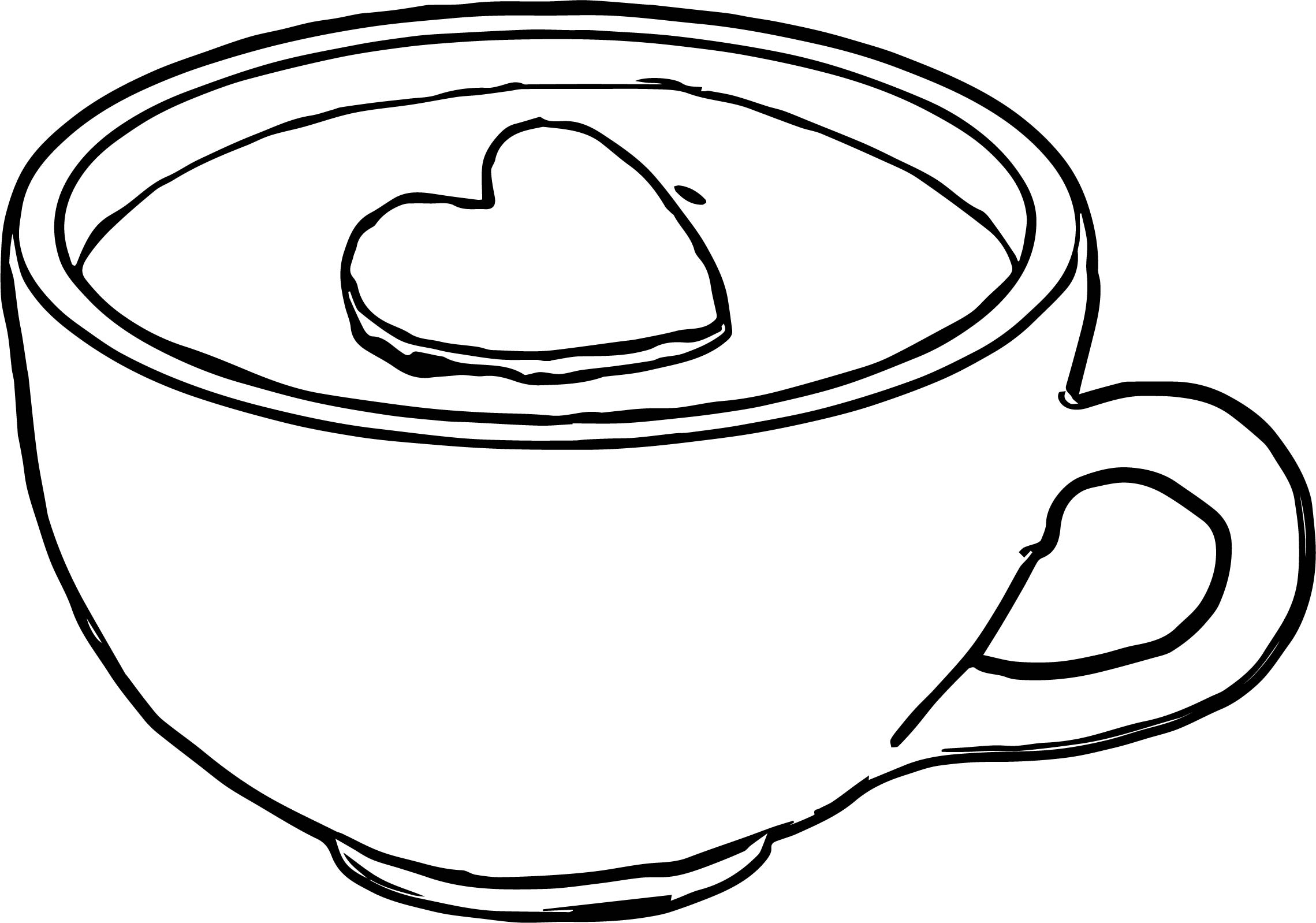 Any Cocoa Mug Prevew Coloring Page