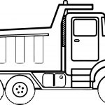 Any Construction Truck Coloring Page