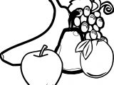 Any Fruit And Vegetables Fruit Coloring Page