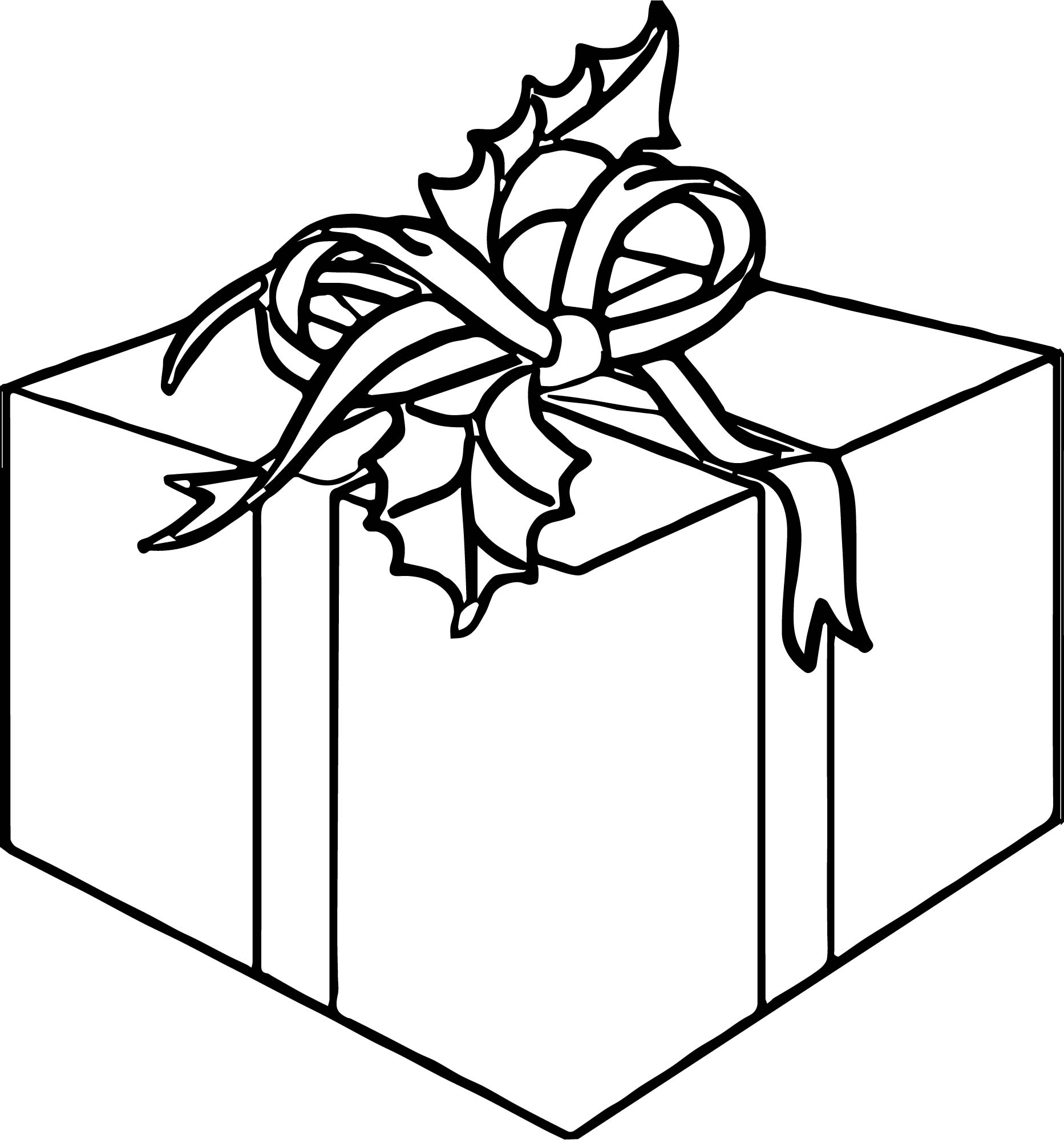 Any Gift Coloring Page