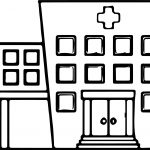 Any Images Hospital Coloring Page