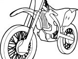 Any Motorcycle Coloring Page