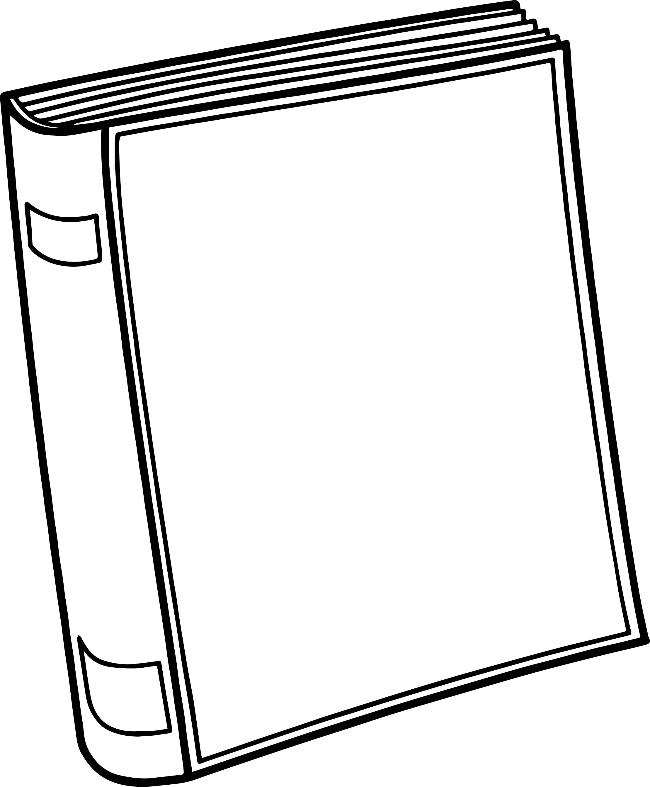 Any Old Book Coloring Page
