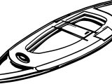 Any Old Canoe Coloring Page