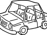 Any Old Car Coloring Page