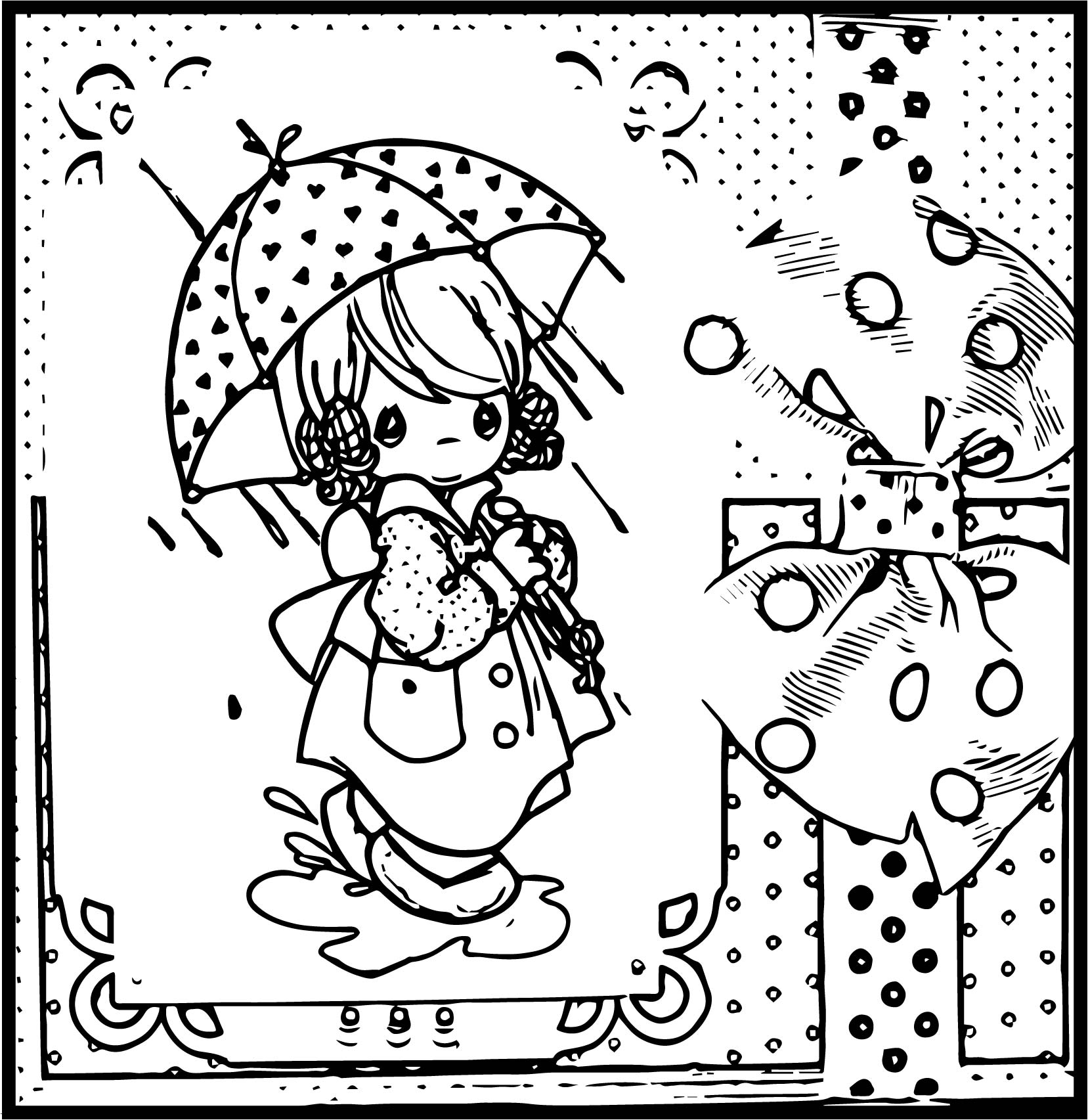 old cartoon coloring pages - photo#41
