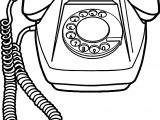 Any Old Telephone Coloring Page