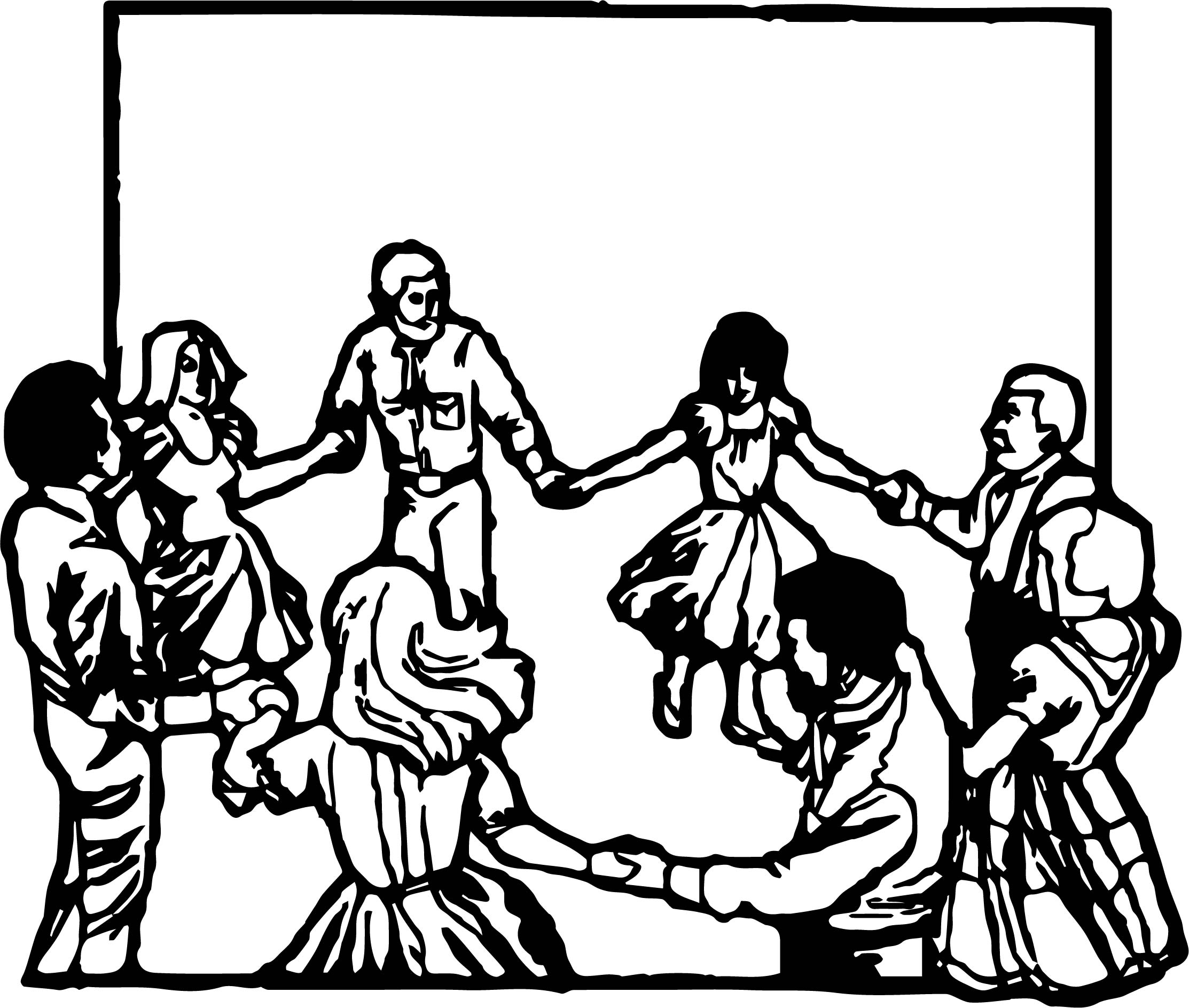 Any People Dance Coloring Page