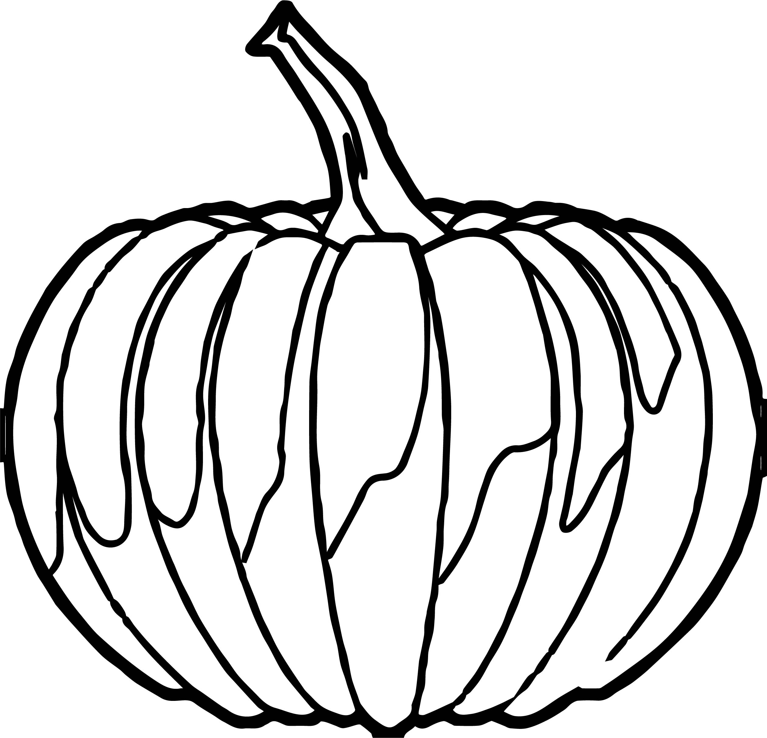 Any Pumpkin Coloring Page