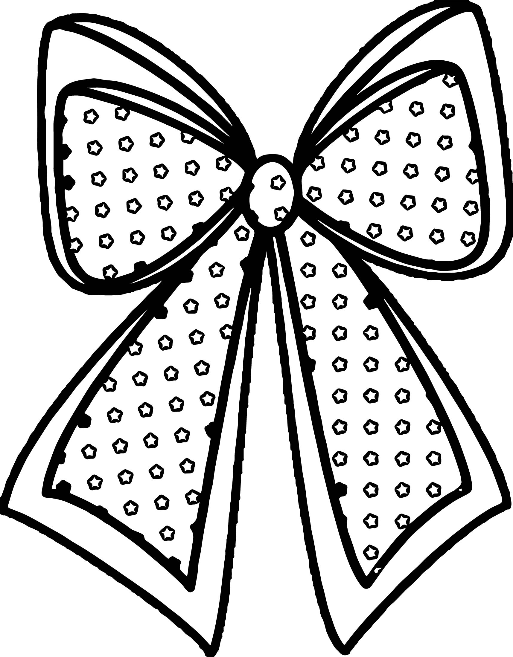 any xmas bow coloring page wecoloringpage