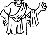Apostle Paul Hi Coloring Page