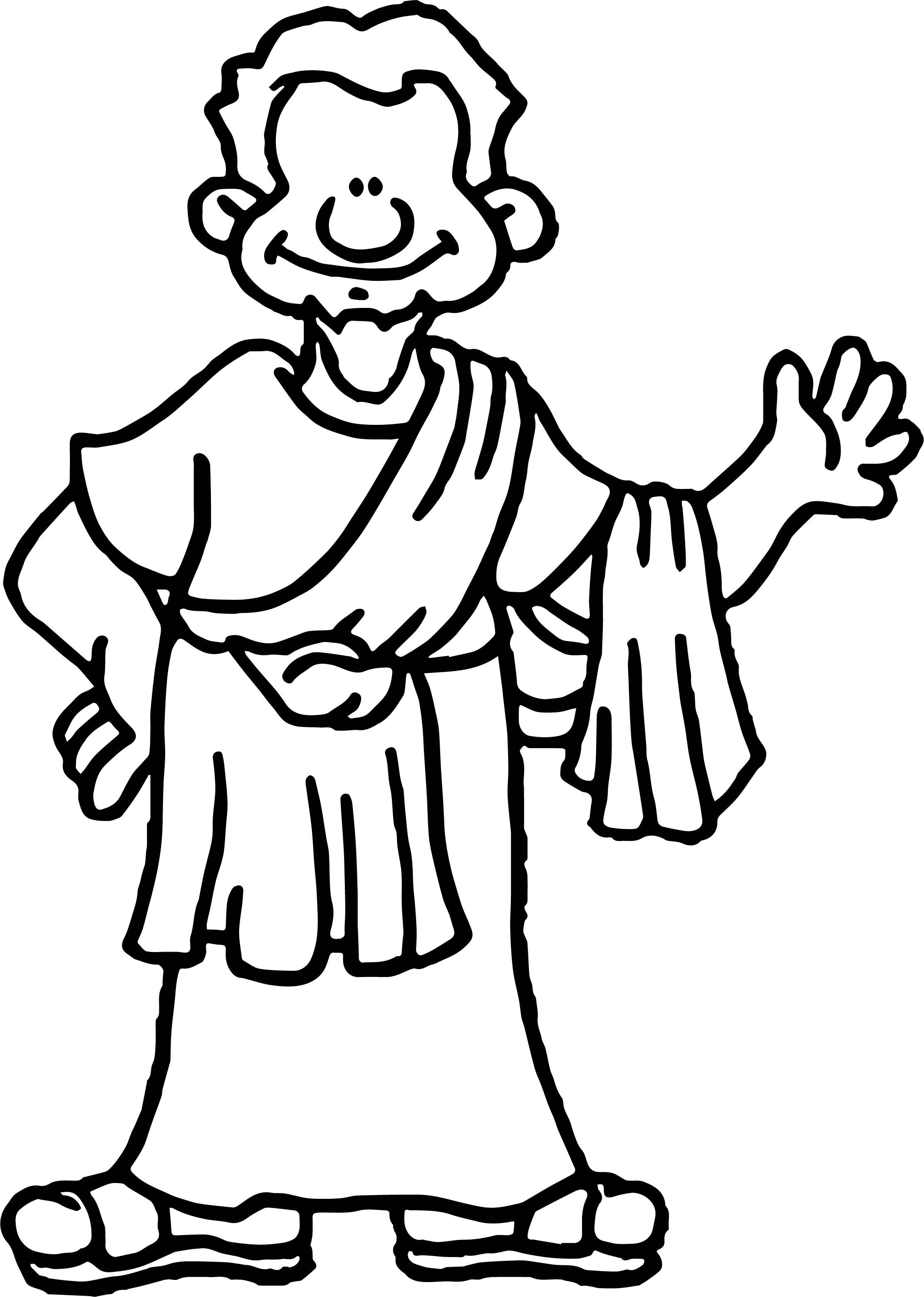 Apostle paul hi coloring page for Apostle paul coloring page