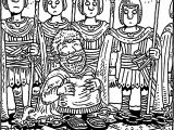 Apostle Paul In Chain Coloring Page