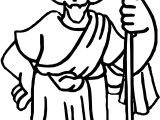 Apostle Paul Man Coloring Page