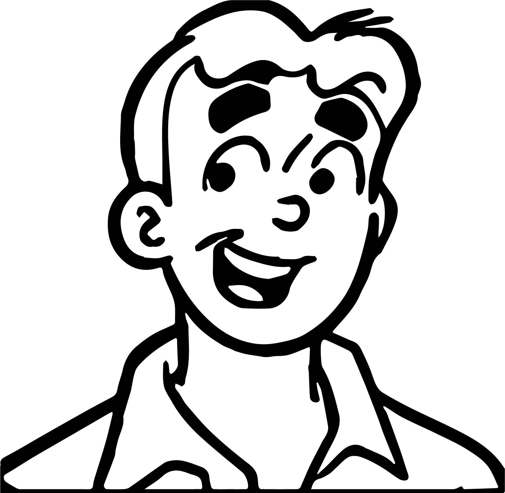 Archie Comics Boy Coloring Page