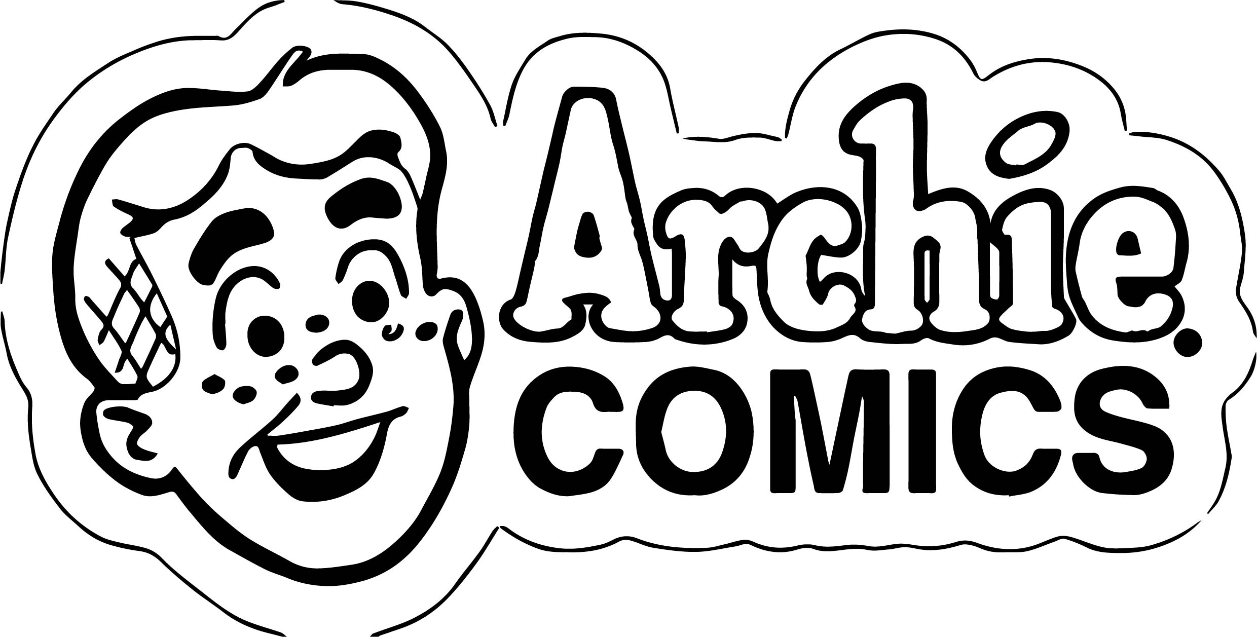Archie Comics Head Coloring Page