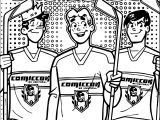 Archie Comics Hockey Coloring Page