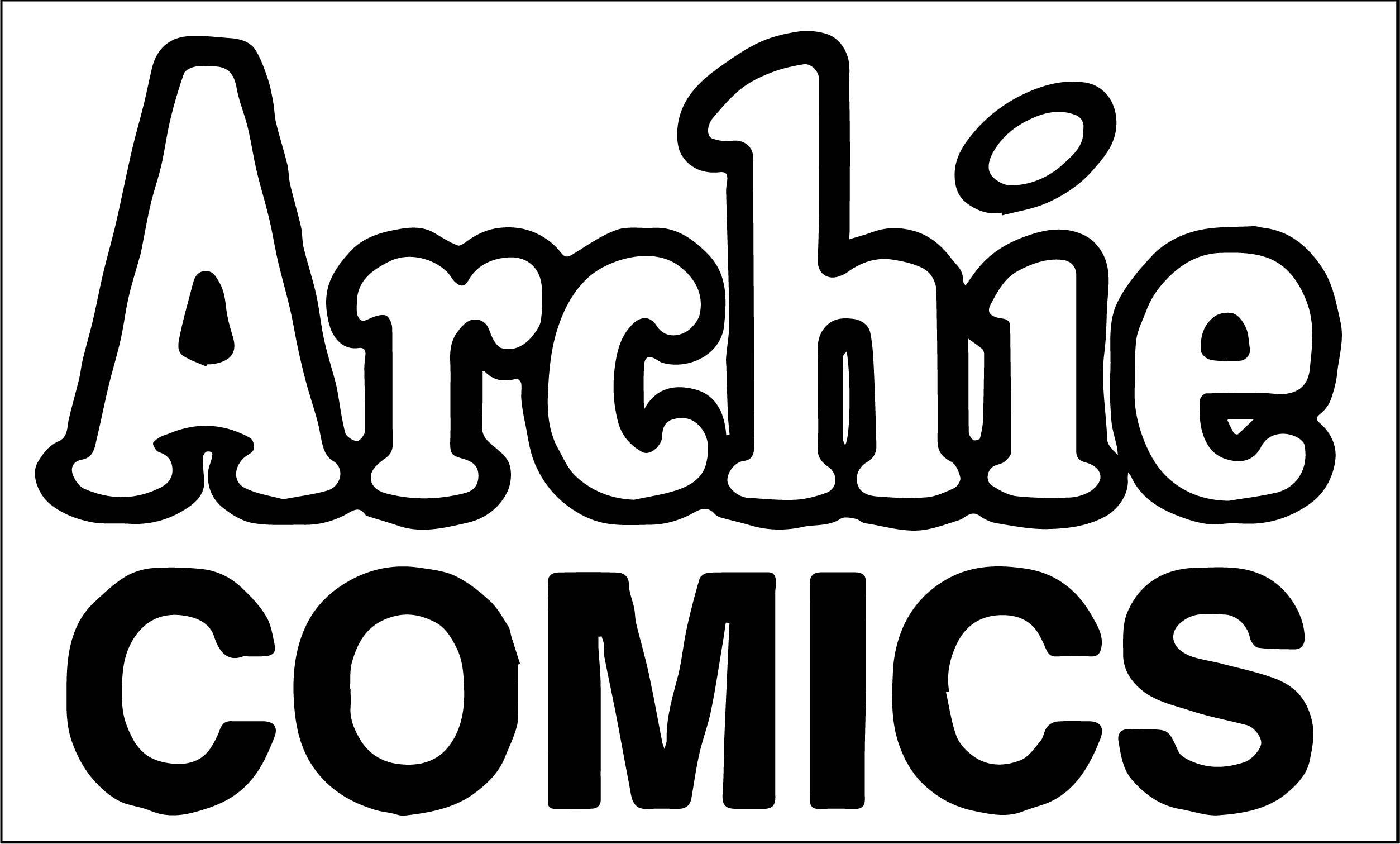 Archie Comics Logo Coloring Page