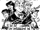 Archie Comics Magic Myhem Coloring Page