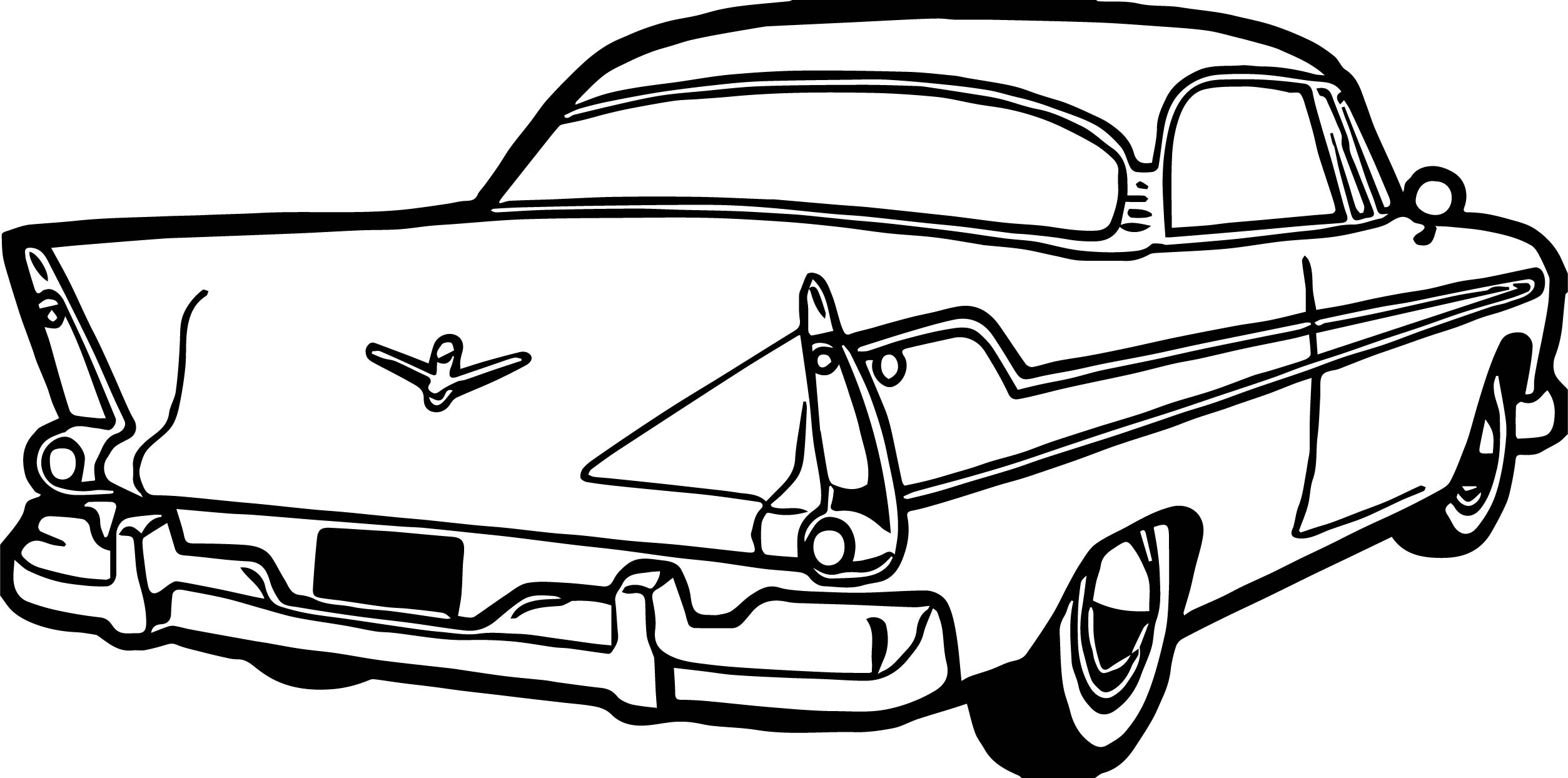 Antique Car Coloring Pages : Classic cars coloring pages for kids antique car
