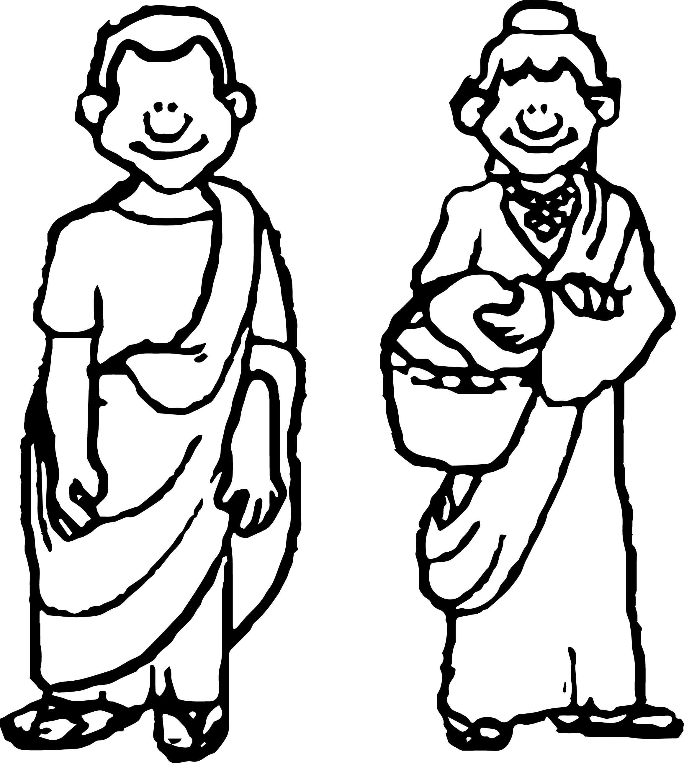 Banner Rome Welcome Coloring Page