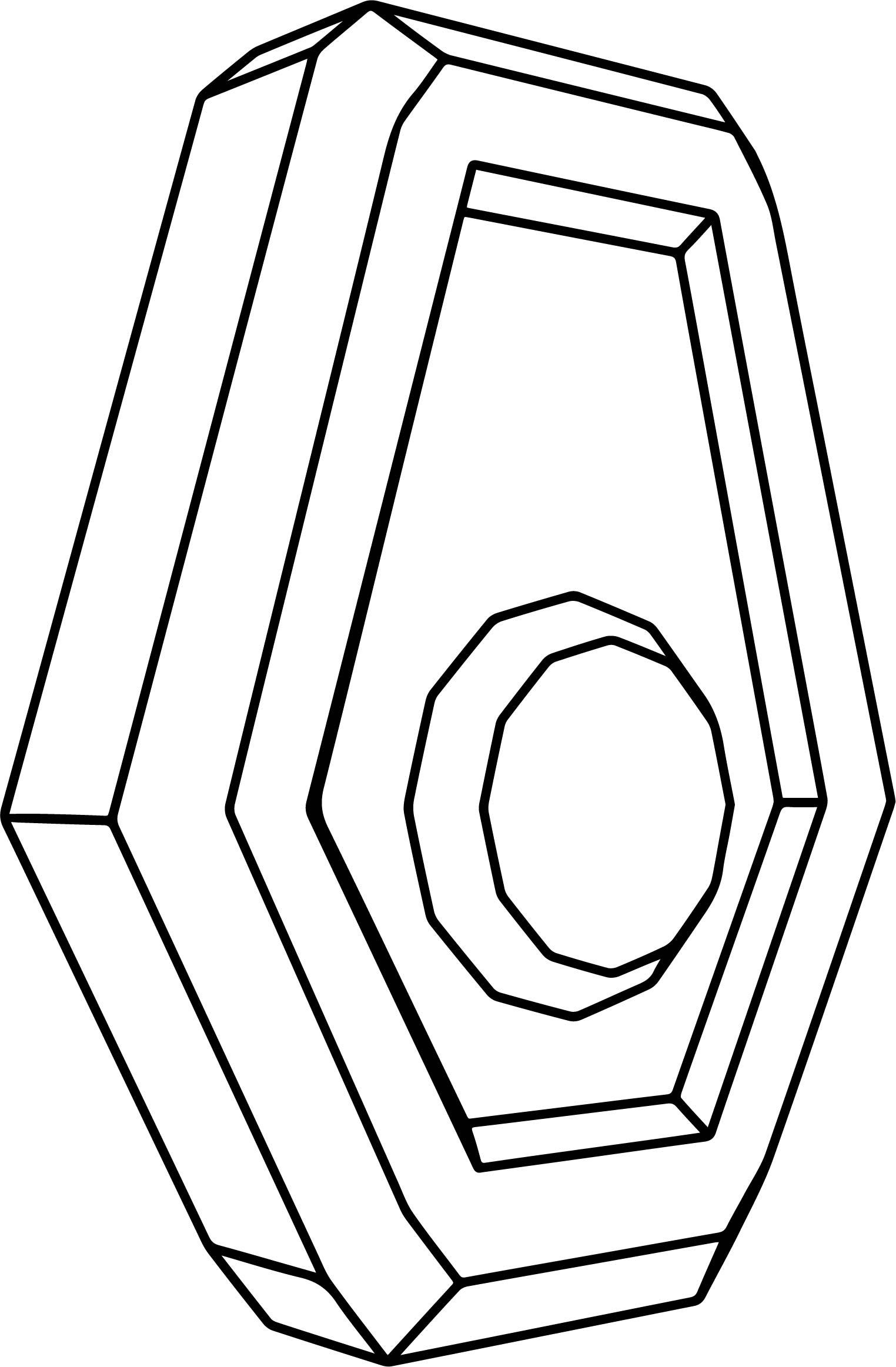 Batarang Device Coloring Page | Wecoloringpage.com
