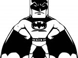 Batman Cartoon Aby Coloring Page
