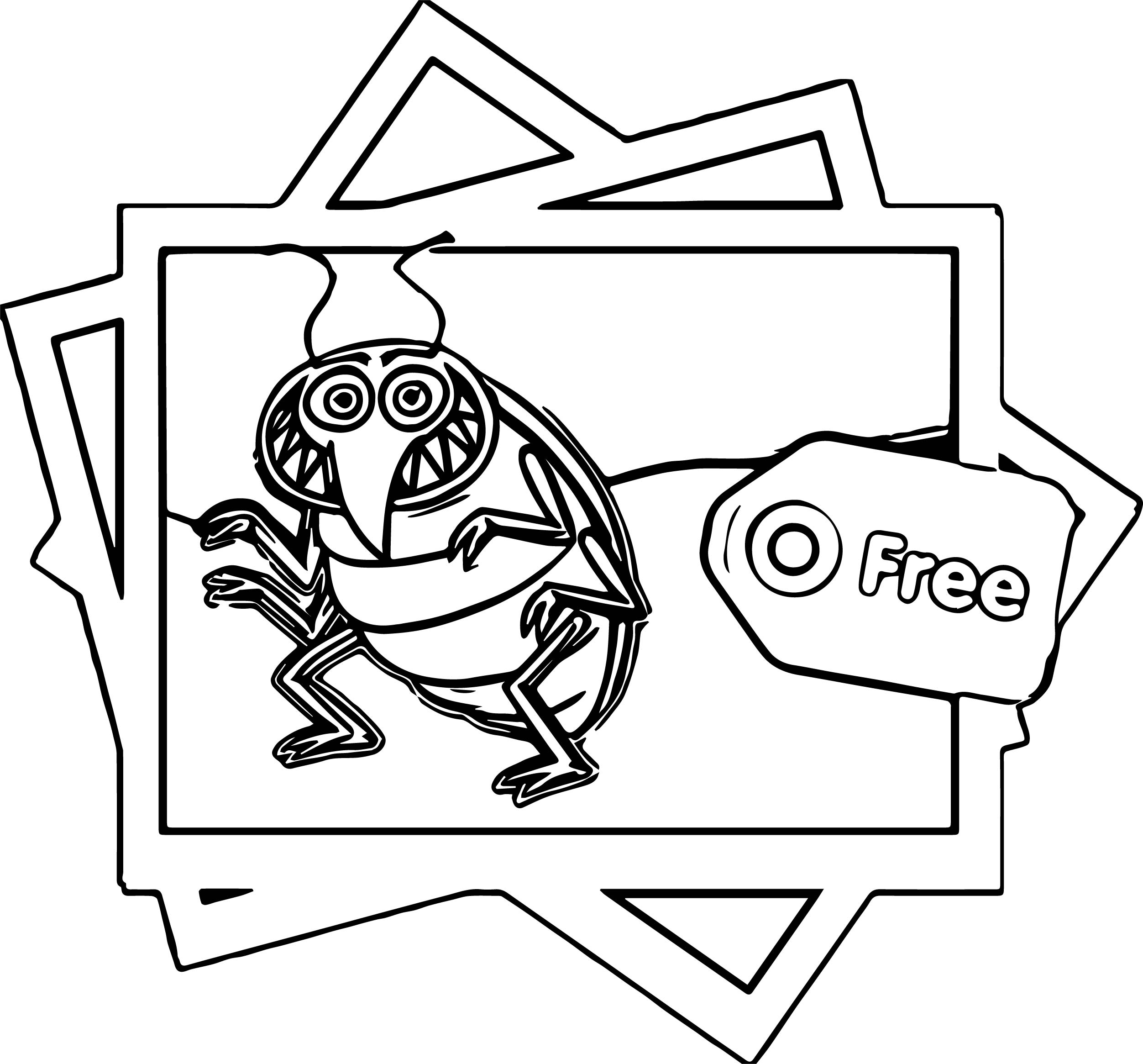 Bed Coloring Page Bed Bugs Polaroid Coloring Page  Wecoloringpage