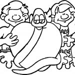 Bible Adam Eve Coloring Page
