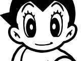 Chibi Big Astro Boy Coloring Page