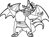 Clown American Dragon Jake Long Coloring Page