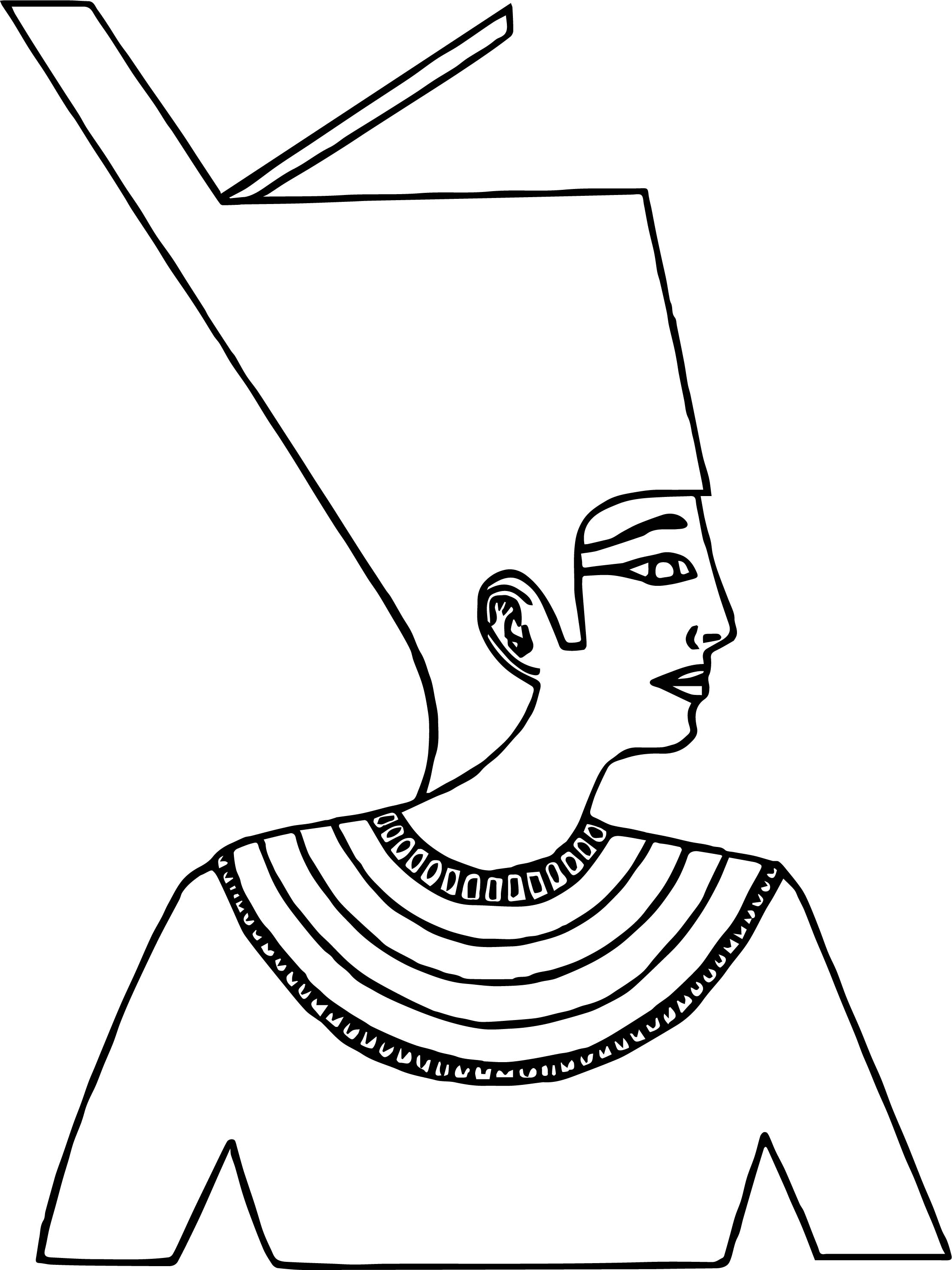 Crown Face Coloring Page
