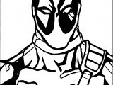 Deadpool Me Coloring Page
