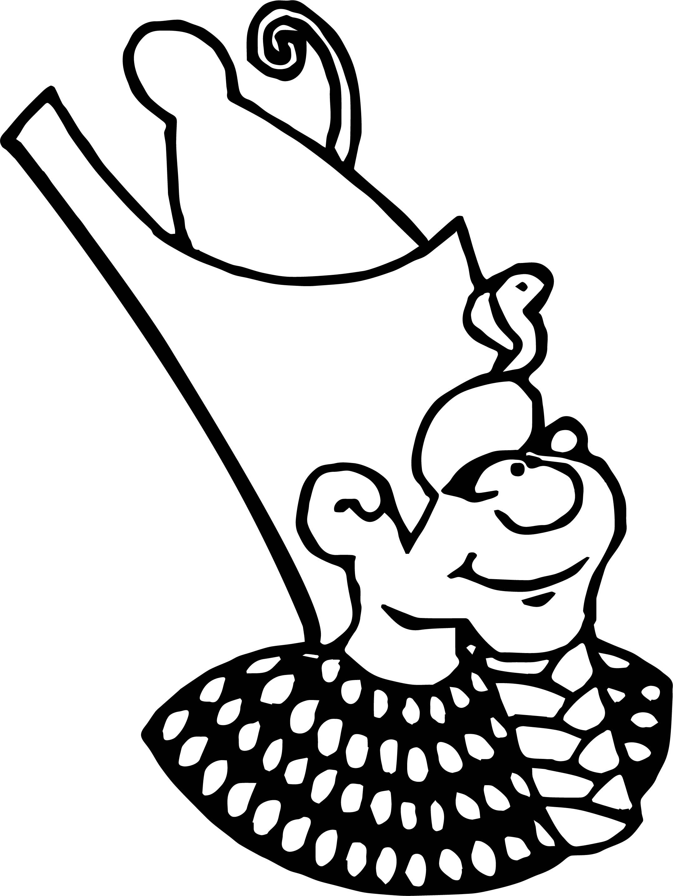Double Crown Coloring Page