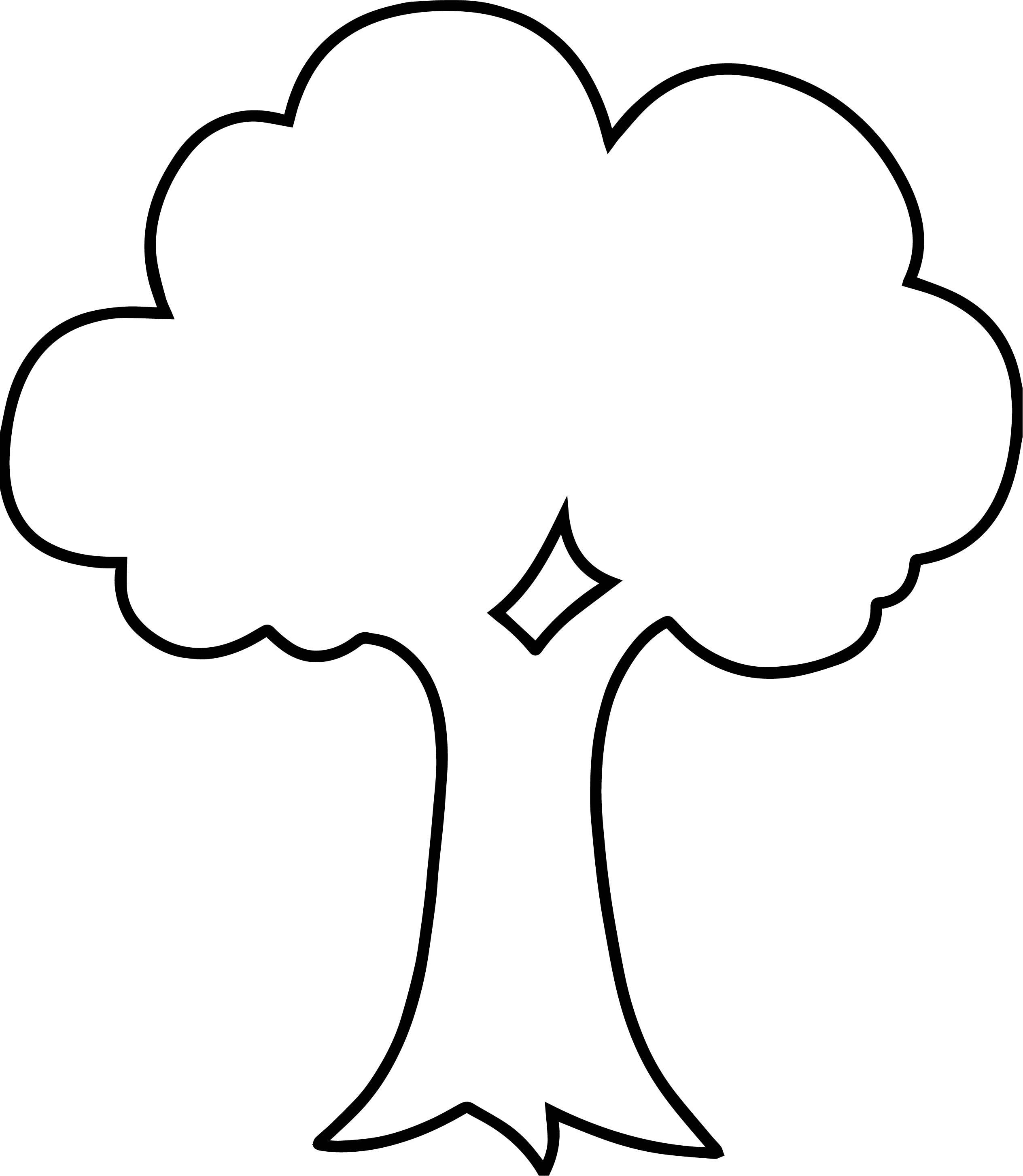 empty apple tree coloring page wecoloringpage