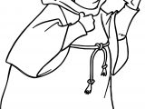 Friartuck Coloring Page