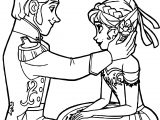 Frozen Hans Anna Coloring Page