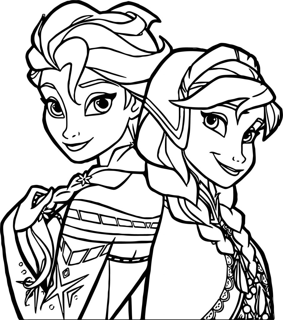 sisters coloring pages - photo#25