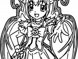 Glitter Force Come Here Coloring Page