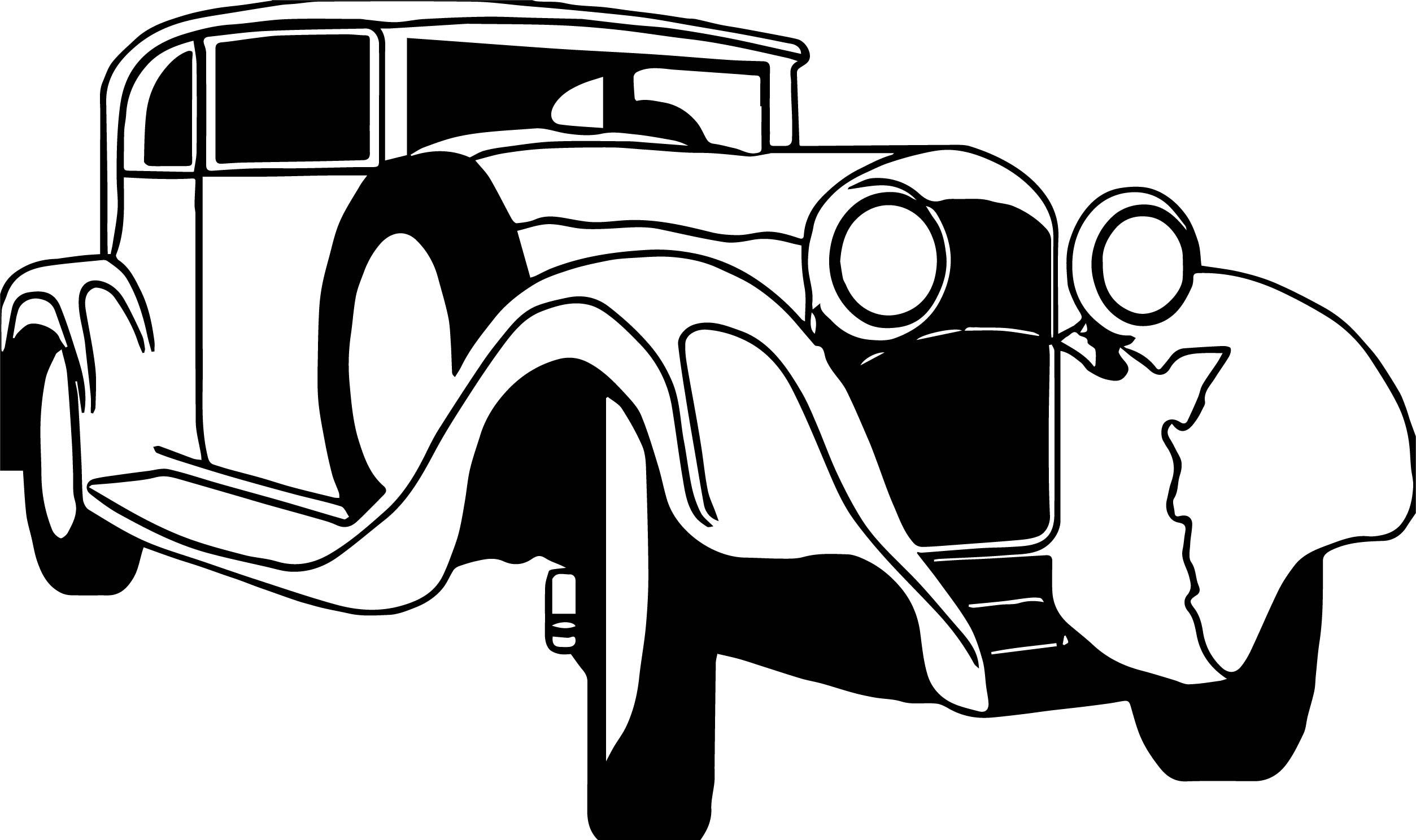 Just Vintage Antique Car Coloring Page Wecoloringpage Just Coloring Cars
