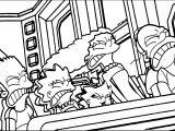 Landscape The Simpsons The Man Who Came To Be Dinner Coloring Page