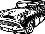 New Car Vintage Antique Coloring Page