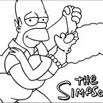 New The Simpsons Coloring Page