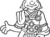Old Soldier Coloring Page