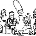 Pras Marge Date Coloring Page