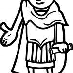 Roman Emperor Md Coloring Page